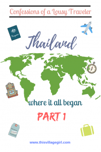 First Solo Trip in Thailand
