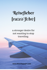 German Travel Words