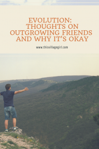 Outgrowing Friends