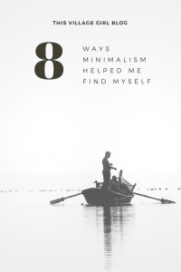 How minimalism helped me find myself
