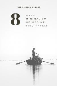 How minimalism helped me find myself