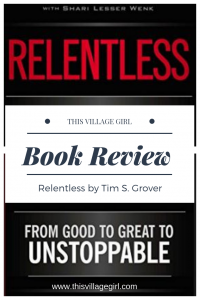 Relentless Book Review