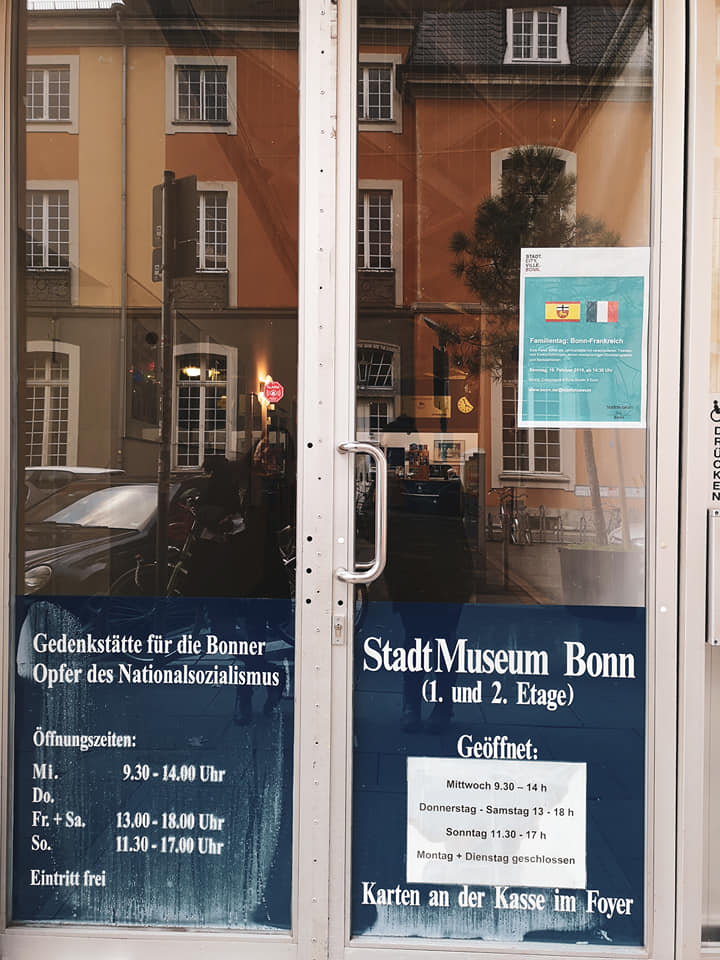 The entrance to Bonn's Stadtmuseum
