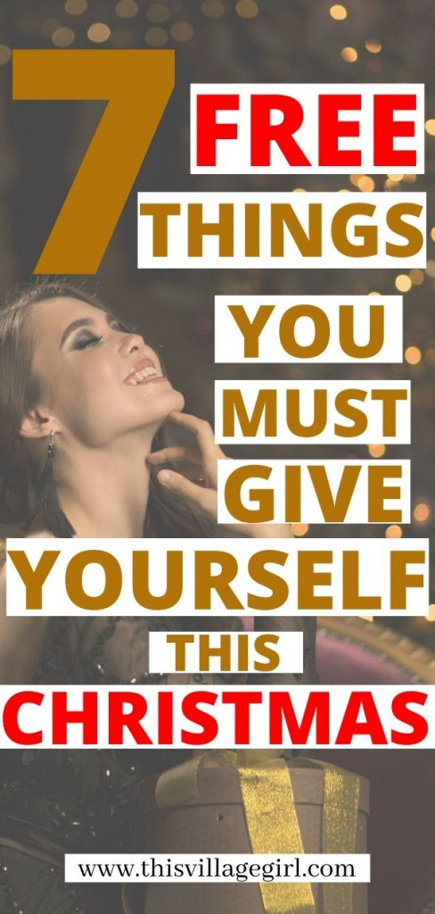 7 Gifts I am Giving Myself Today