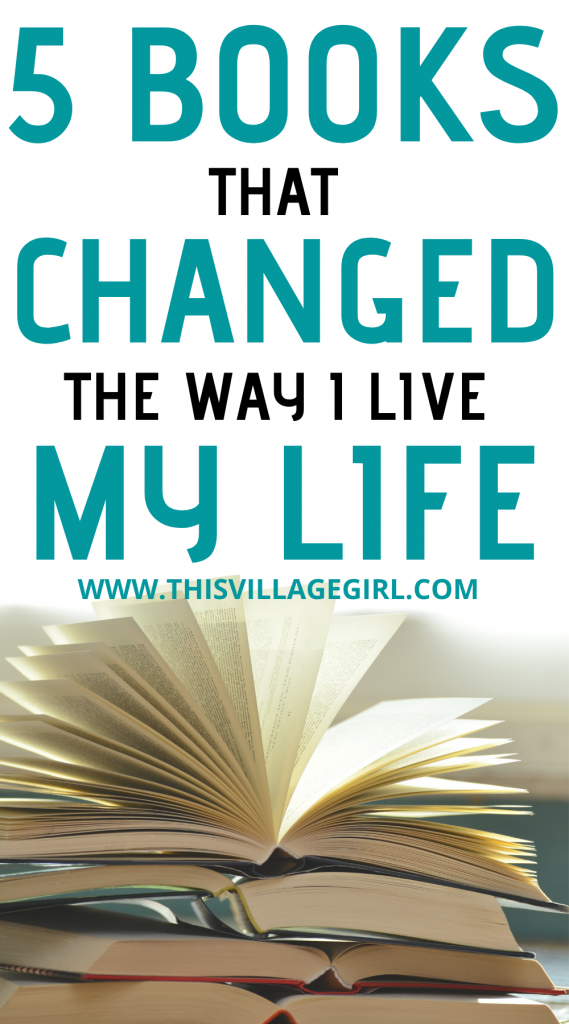 5  Books that Changed How I Live my everyday Life
