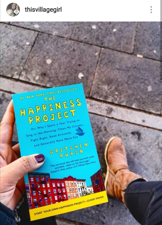 Happiness Project by Gretchen Ruben