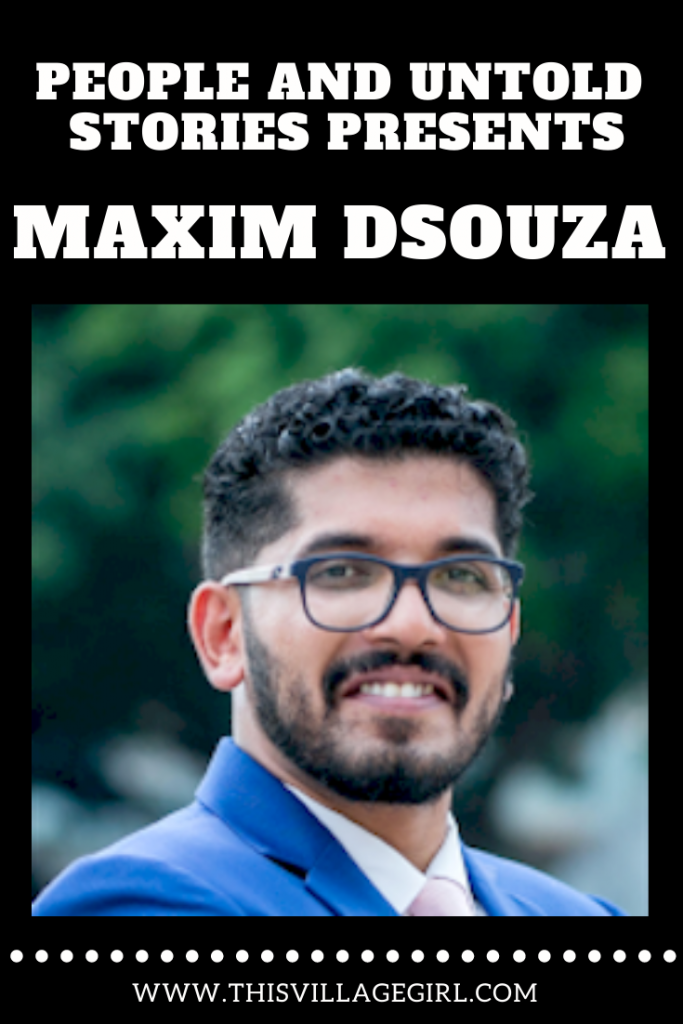 Maxim Dsouza on How he Landed Writing his own Book.